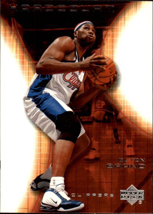 2003-04 Upper Deck Hardcourt #31 Elton Brand