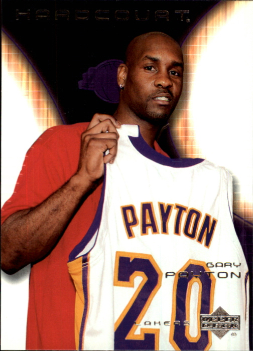 2003-04 Upper Deck Hardcourt #35 Gary Payton