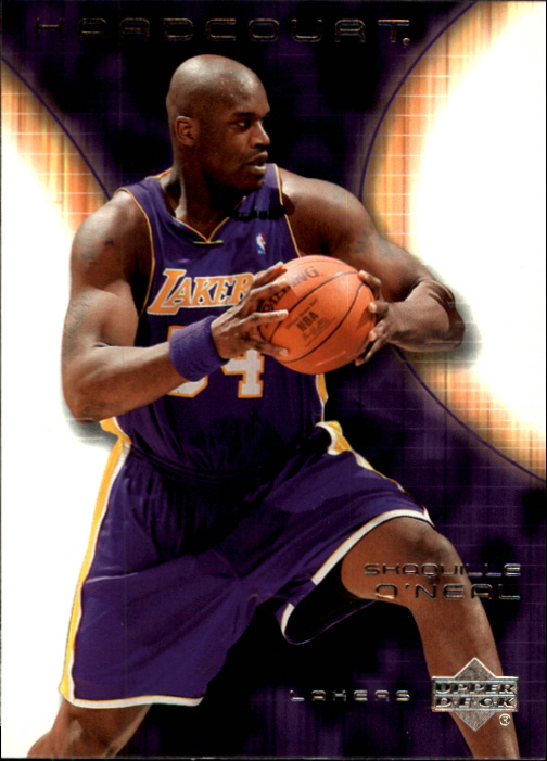2003-04 Upper Deck Hardcourt #36 Shaquille O'Neal