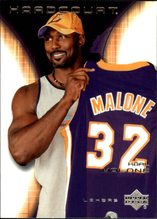 2003-04 Upper Deck Hardcourt #37 Karl Malone