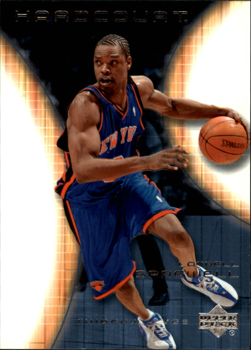 2003-04 Upper Deck Hardcourt #58 Latrell Sprewell