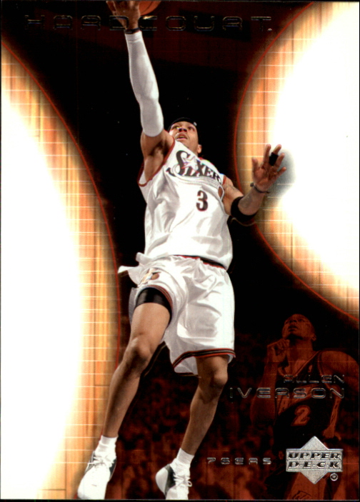 2003-04 Upper Deck Hardcourt #62 Allen Iverson