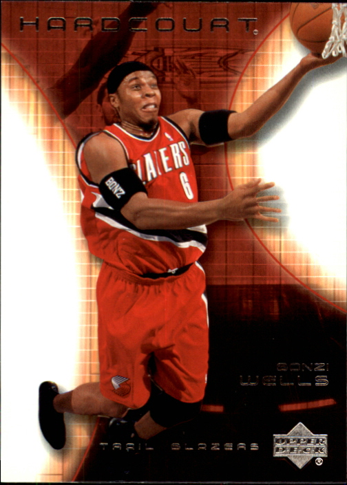 2003-04 Upper Deck Hardcourt #69 Bonzi Wells