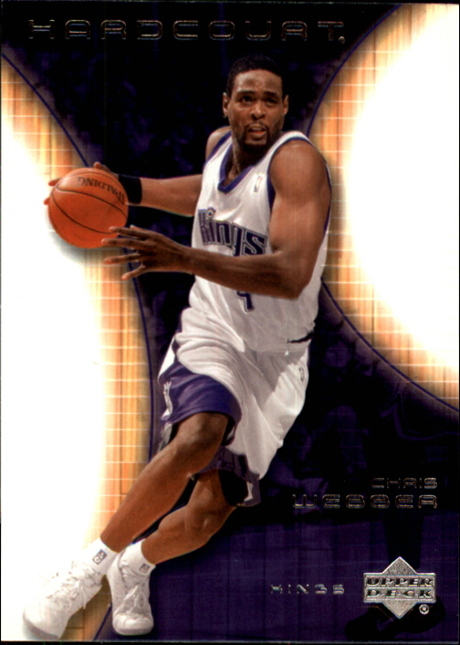2003-04 Upper Deck Hardcourt #71 Chris Webber