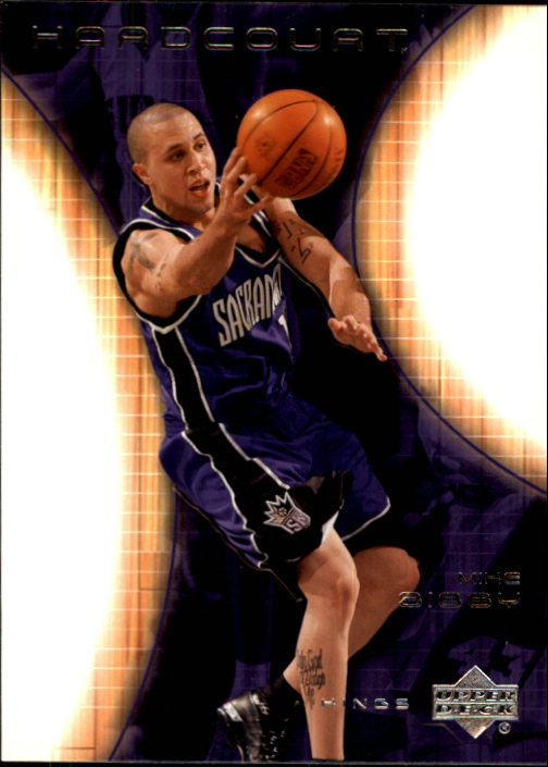 2003-04 Upper Deck Hardcourt #72 Mike Bibby