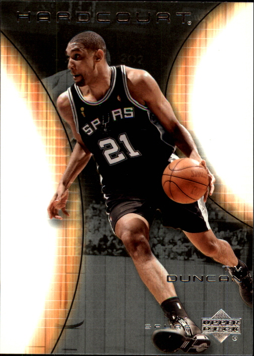 2003-04 Upper Deck Hardcourt #75 Tim Duncan