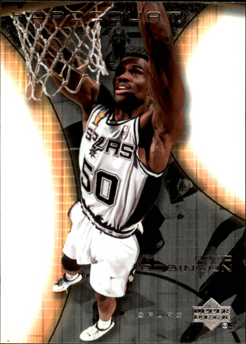 2003-04 Upper Deck Hardcourt #76 David Robinson