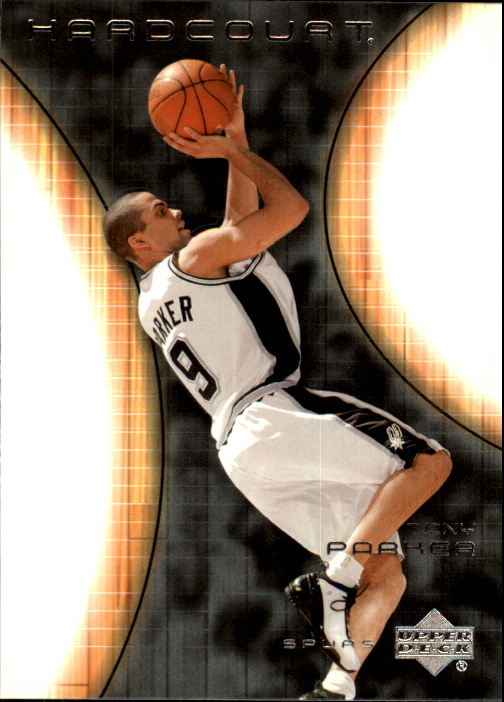 2003-04 Upper Deck Hardcourt #77 Tony Parker
