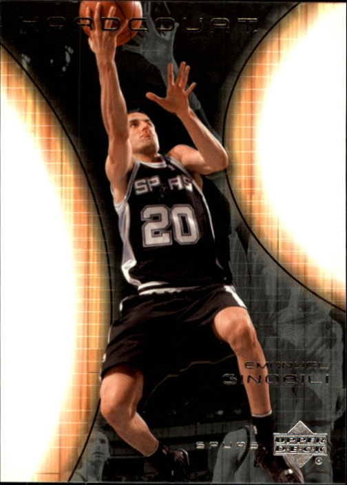 2003-04 Upper Deck Hardcourt #78 Manu Ginobili
