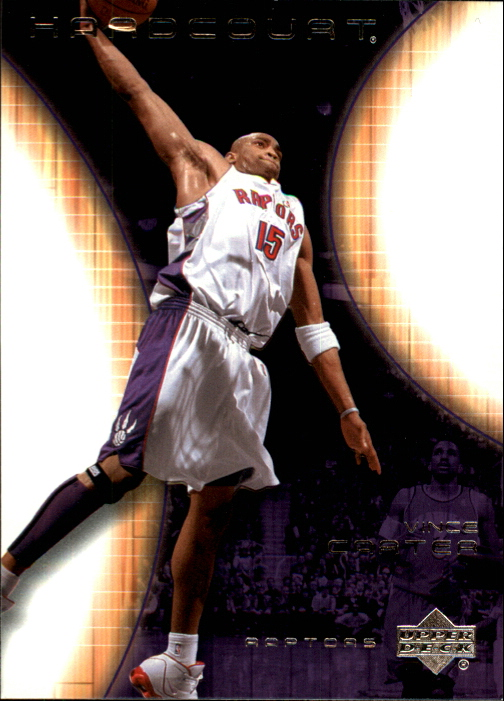 2003-04 Upper Deck Hardcourt #82 Vince Carter