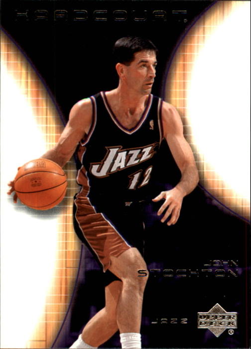 2003-04 Upper Deck Hardcourt #86 John Stockton