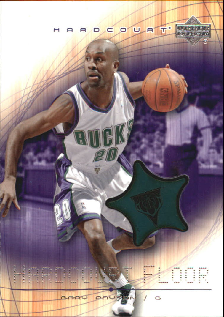 2003-04 Upper Deck Hardcourt Floor #GPF Gary Payton