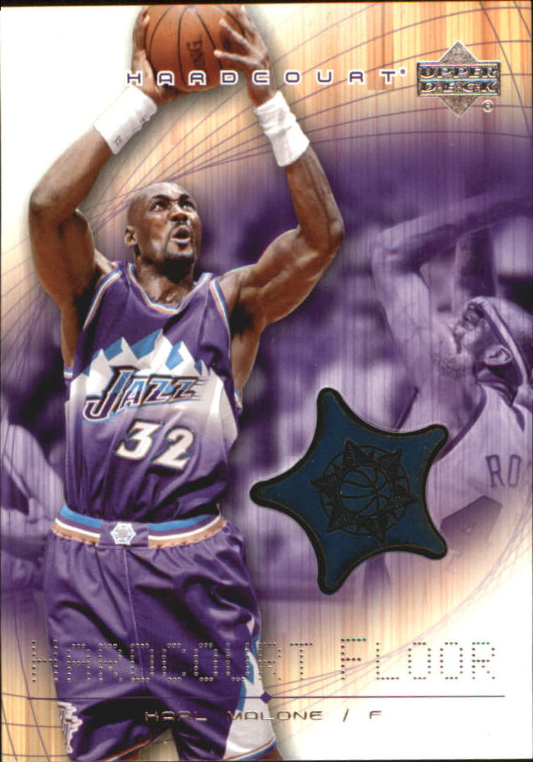2003-04 Upper Deck Hardcourt Floor #KMF Karl Malone