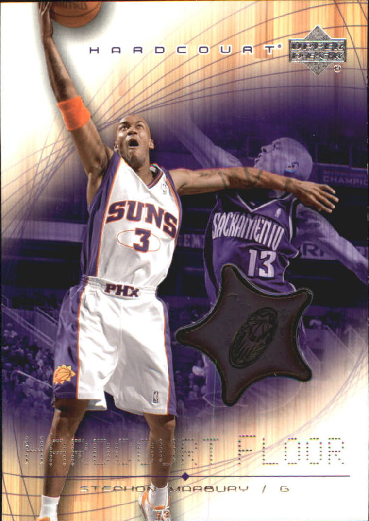 2003-04 Upper Deck Hardcourt Floor #SMF Steve Nash