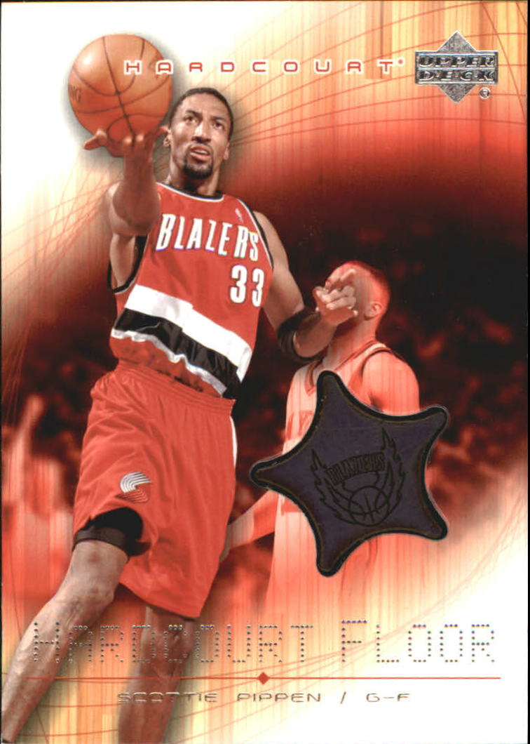 2003-04 Upper Deck Hardcourt Floor #SPF Scottie Pippen