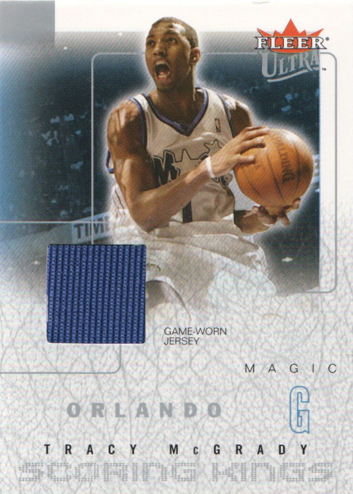 2003-04 Ultra Scoring Kings Game Used #3 Tracy McGrady