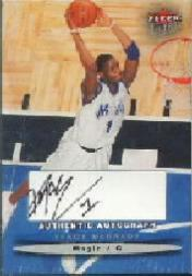 2003-04 Ultra Signatures #12 Tracy McGrady