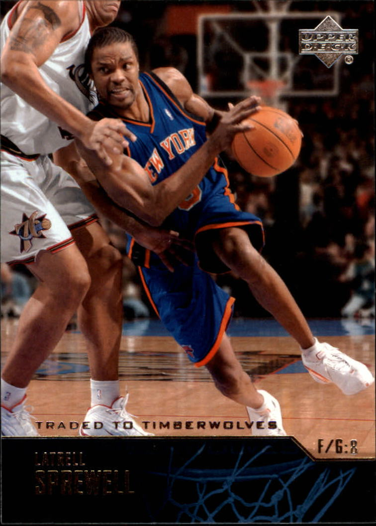 2003-04 Upper Deck #157 Latrell Sprewell