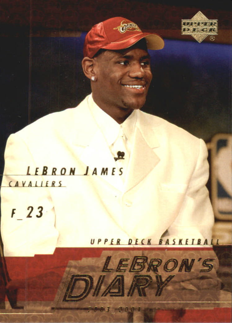 2003-04 Upper Deck LeBron's Diary #LJ5 LeBron James