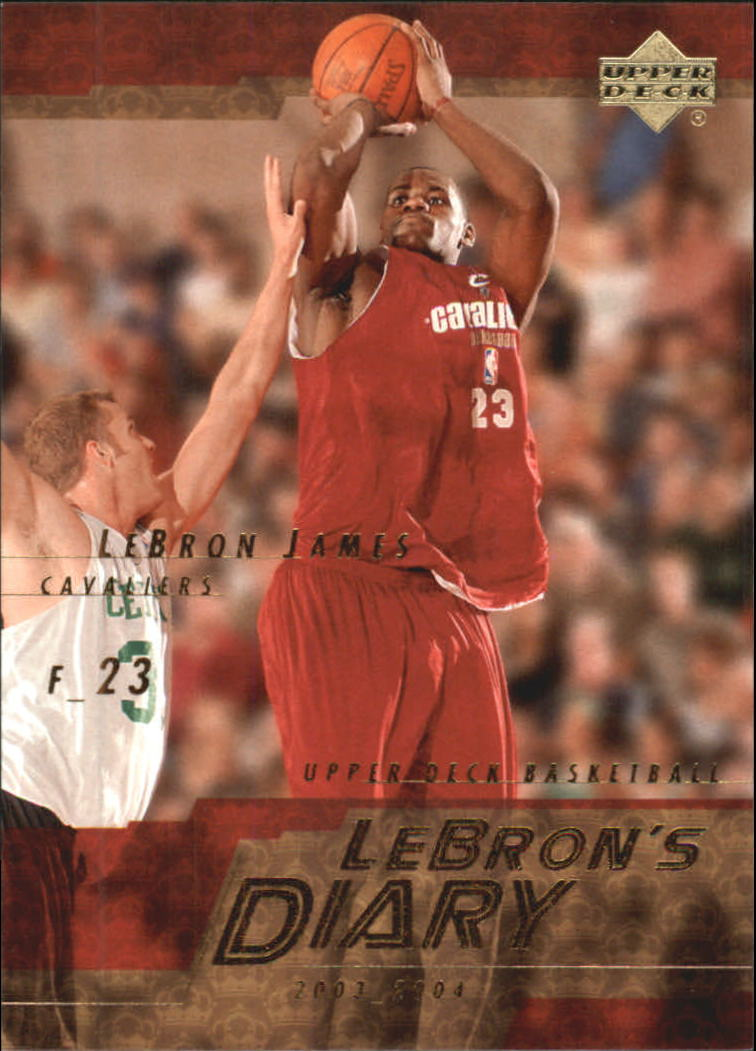 2003-04 Upper Deck LeBron's Diary #LJ7 LeBron James