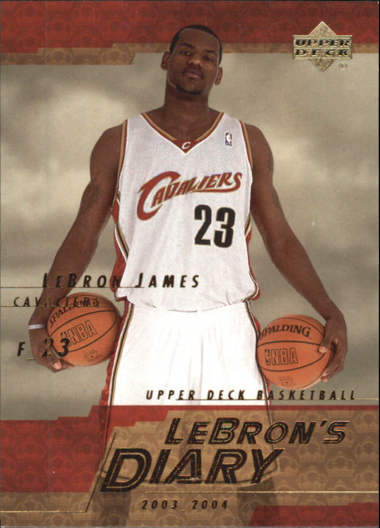 2003-04 Upper Deck LeBron's Diary #LJ8 LeBron James