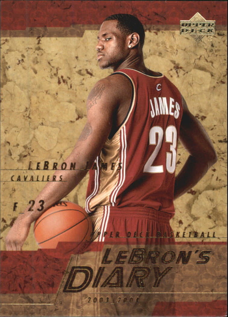 2003-04 Upper Deck LeBron's Diary #LJ9 LeBron James