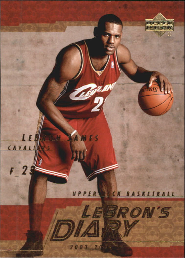 2003-04 Upper Deck LeBron's Diary #LJ13 LeBron James