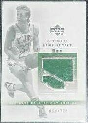2003-04 Ultimate Collection Jerseys #LB Larry Bird