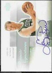 2003-04 Ultimate Collection Signatures #LB Larry Bird SP