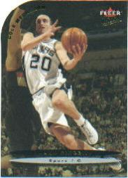 2003-04 Ultra Gold Medallion #159 Manu Ginobili