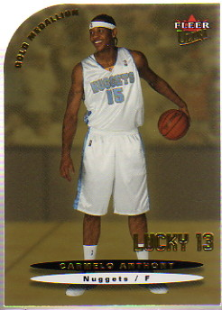 2003-04 Ultra Gold Medallion #173 Carmelo Anthony L13
