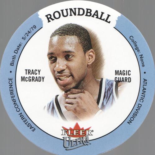 2003-04 Ultra Roundball Discs #2 Tracy McGrady