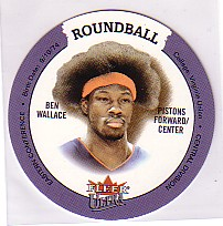 2003-04 Ultra Roundball Discs #6 Ben Wallace