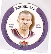 2003-04 Ultra Roundball Discs #8 Jason Kidd