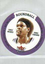 2003-04 Ultra Roundball Discs #13 Chris Webber
