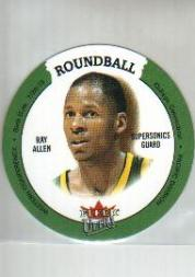 2003-04 Ultra Roundball Discs #16 Ray Allen