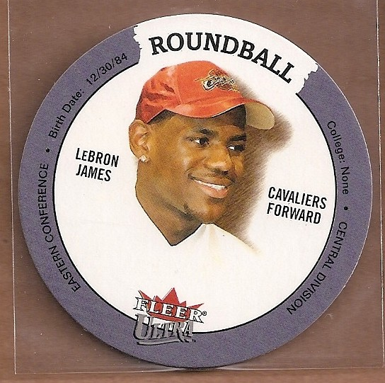 2003-04 Ultra Roundball Discs #31 LeBron James