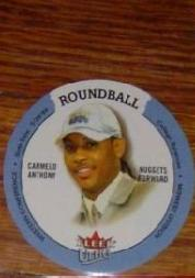 2003-04 Ultra Roundball Discs #33 Carmelo Anthony front image