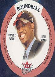 2003-04 Ultra Roundball Discs #35 Dwyane Wade