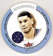 2003-04 Ultra Roundball Discs Game Used #RDAH Allan Houston