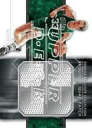 2003-04 Exquisite Collection Patches Quad #LB Larry Bird