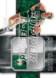 2003-04 Exquisite Collection Patches Triple #LB Larry Bird
