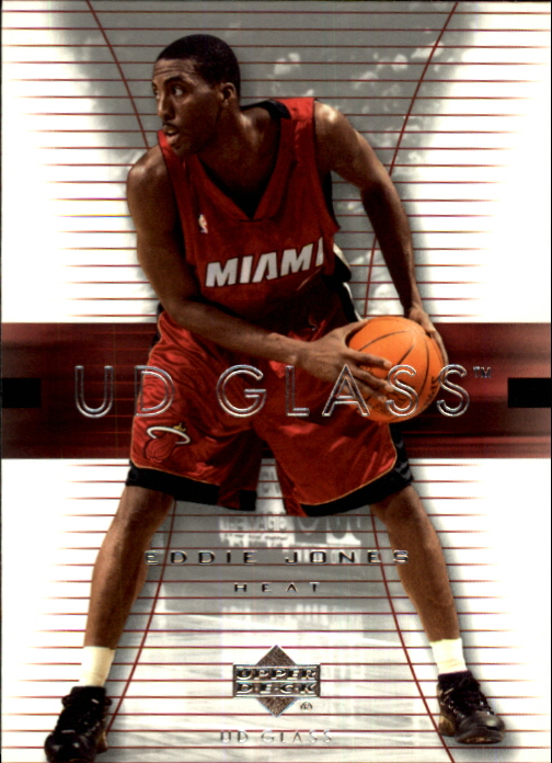 2003-04 UD Glass #30 Eddie Jones