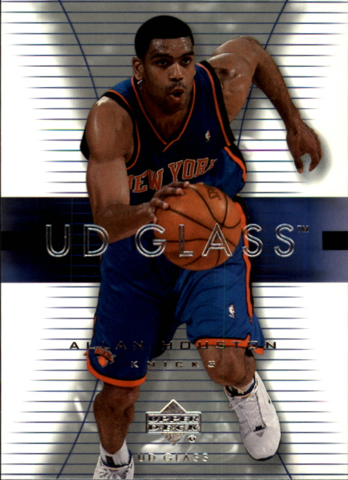 2003-04 UD Glass #39 Allan Houston