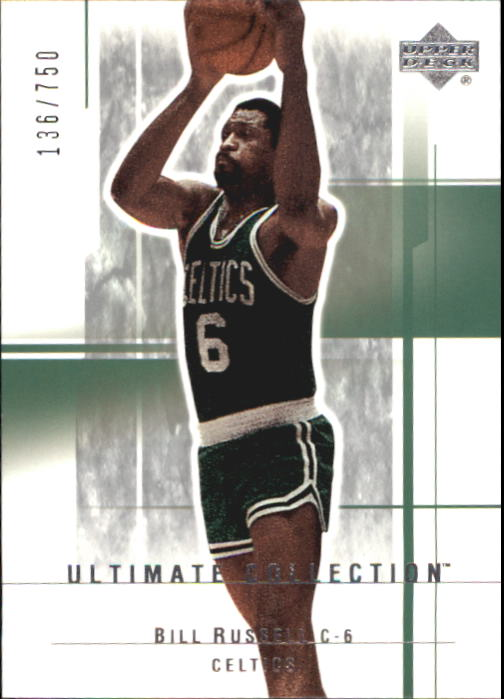 2003-04 Ultimate Collection #5 Bill Russell