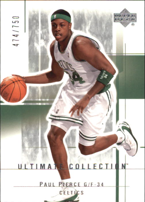 2003-04 Ultimate Collection #6 Paul Pierce