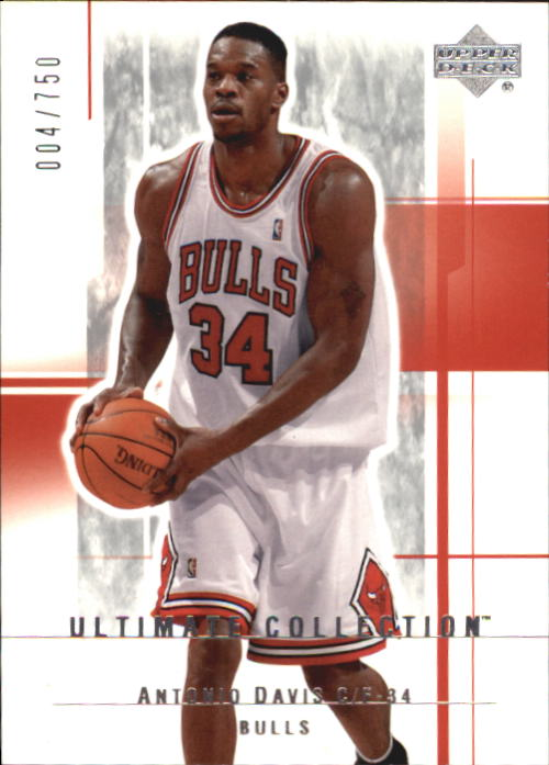 2003-04 Ultimate Collection #9 Antonio Davis