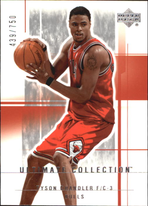 2003-04 Ultimate Collection #12 Tyson Chandler