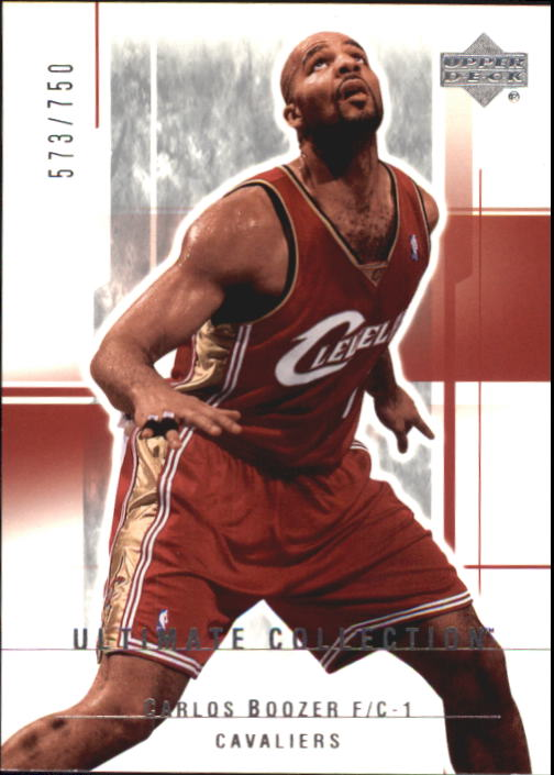 2003-04 Ultimate Collection #15 Carlos Boozer