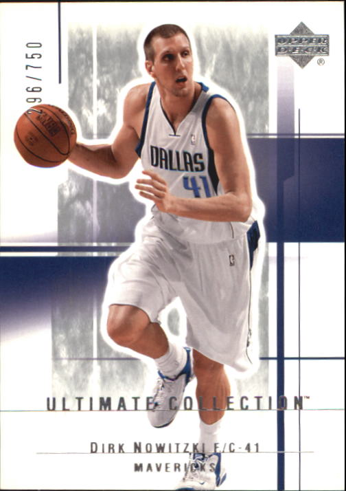 2003-04 Ultimate Collection #17 Dirk Nowitzki
